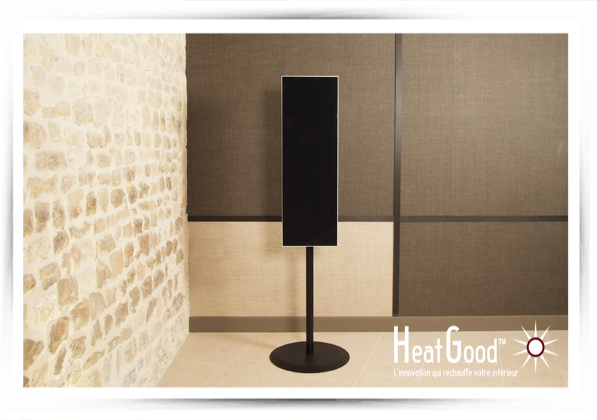 chauffage d 39 appoint lectrique heatgood radiateur. Black Bedroom Furniture Sets. Home Design Ideas